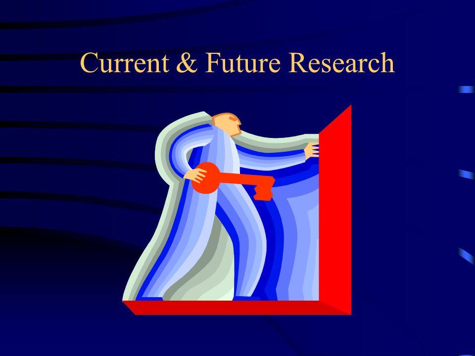 Current & Future Research