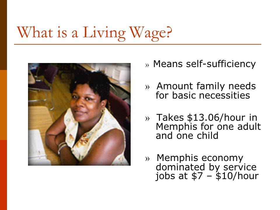 What is a Living Wage.