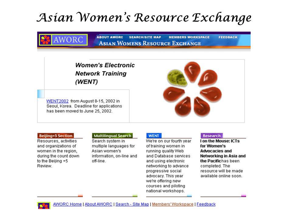 Asian Women's Resource Exchange