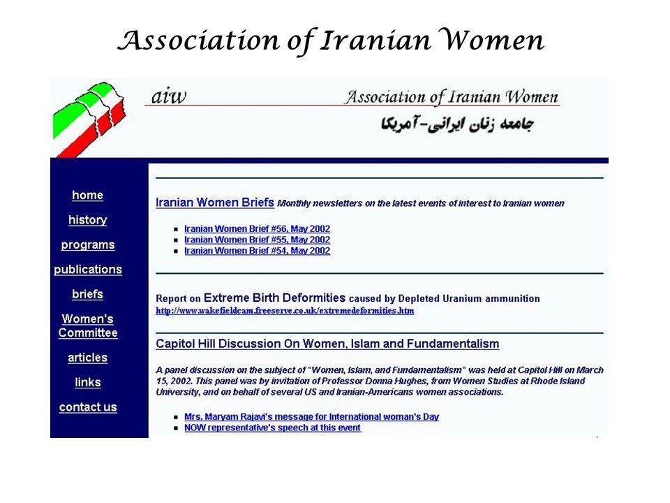 Association of Iranian Women