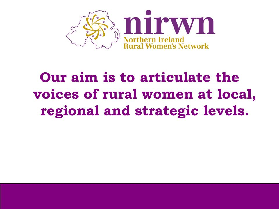 It was our aim to use IWD 2013 to host an event specifically for older rural women to address these concerns in an informative way and provide an opportunity for rural older women to have their voices heard.