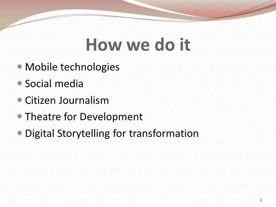 The potential of social media 5