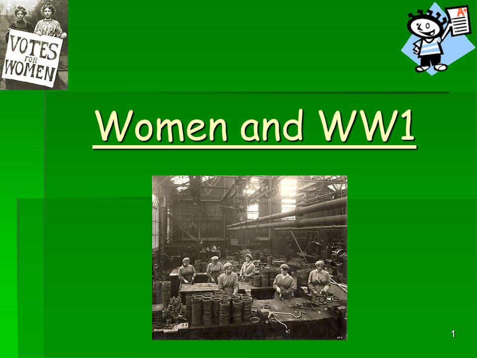 1 Women and WW1