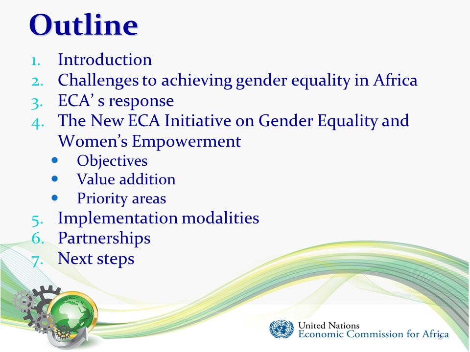 4 (a) 4 (a) Women's economic empowerment (1/3) Aim: To promote women's economic empowerment by measuring and recognising their contributions to Africa's economic development and harnessing their entrepreneurial potential.