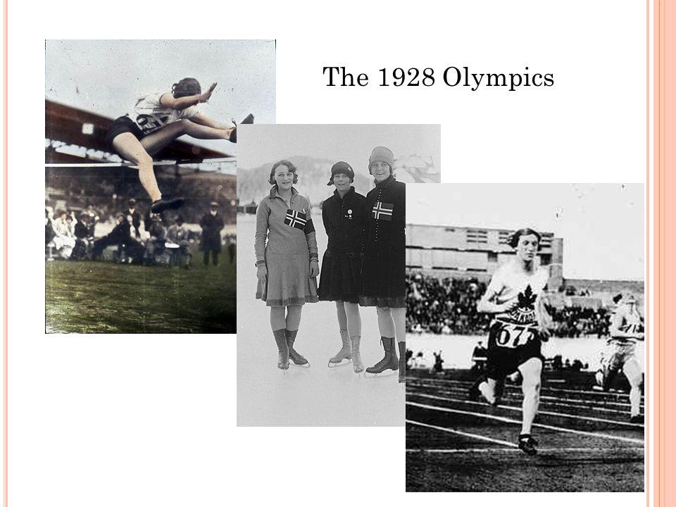 The 1928 Olympics