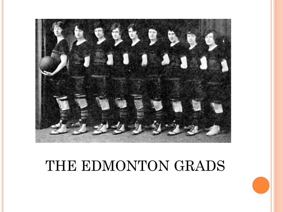 THE EDMONTON GRADS
