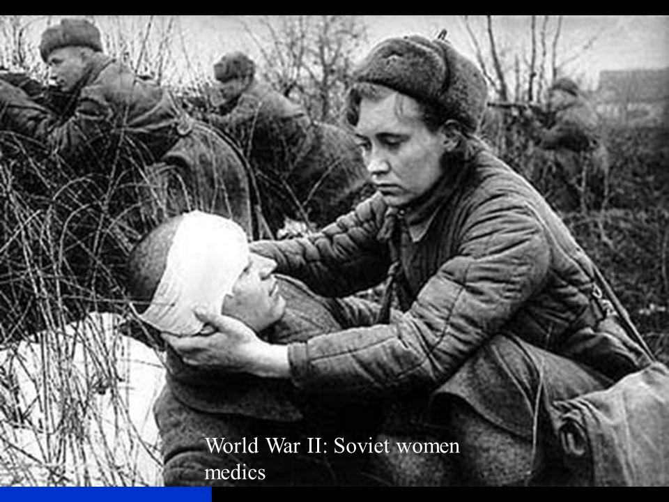 World War II: Soviet women medics