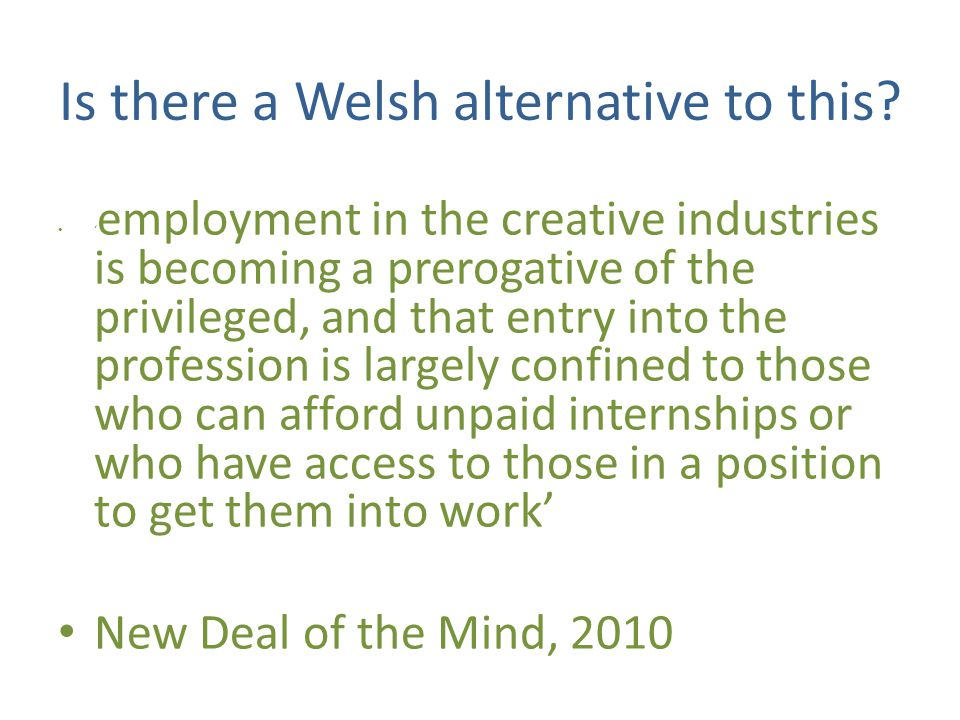 Is there a Welsh alternative to this.