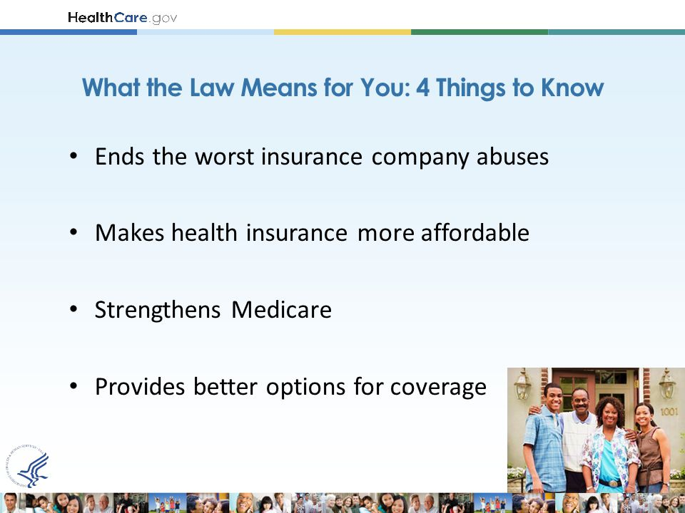 TODAY, it is illegal for insurance companies to: Put a lifetime cap on how much care they will pay for if you get sick.