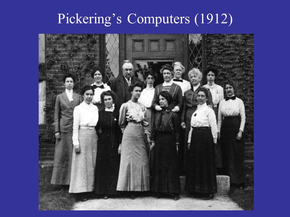 Pickering's Computers (1912)