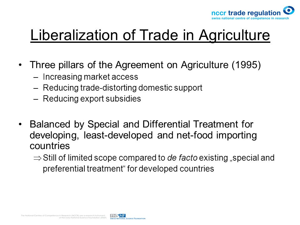 Liberalization of Trade in Agriculture: Issues of concern under CEDAW RIGHT TO HEALTH (Art.