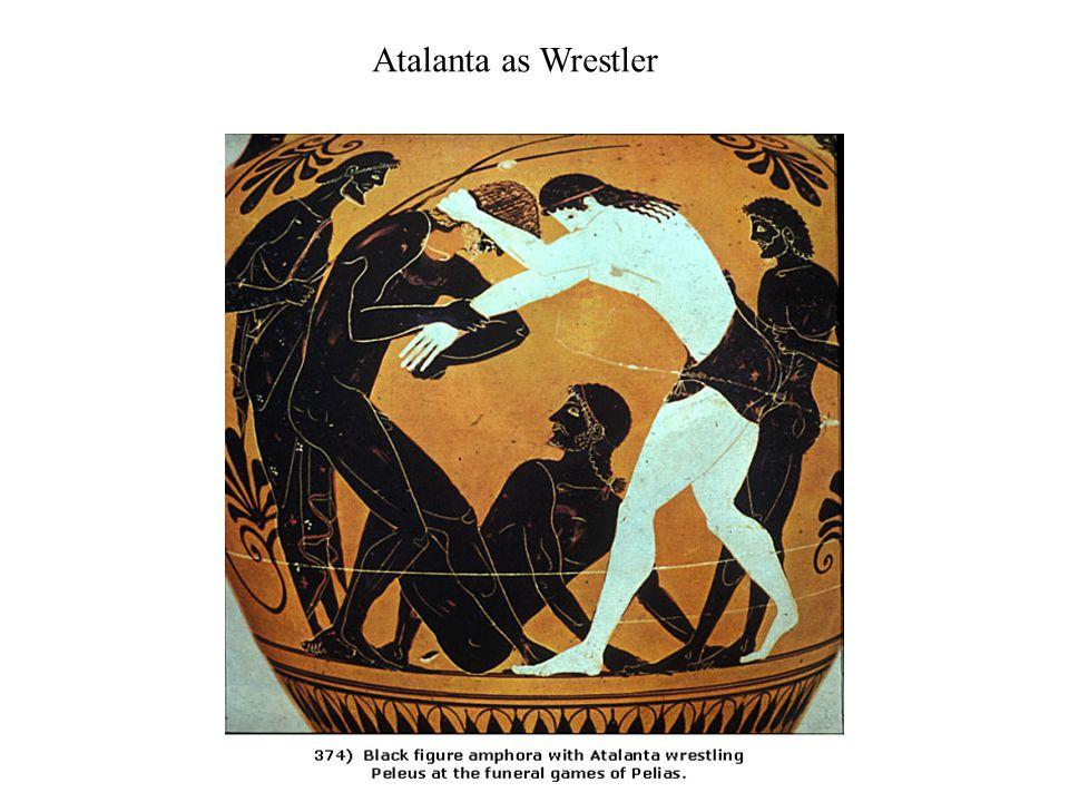 Women as Athletes in Myth (Atalanta and Thetis) in Reality (Kyniska et al.)