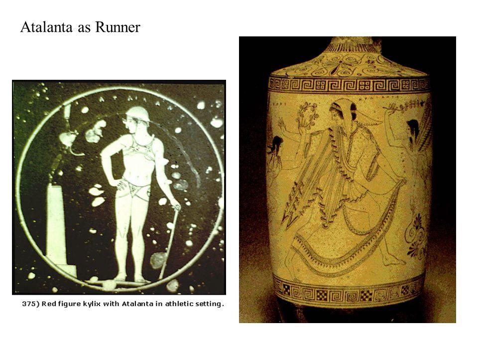 Atalanta as Wrestler
