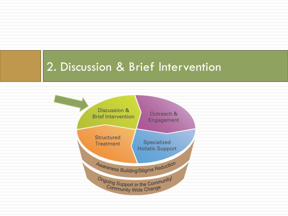 2. Discussion & Brief Intervention
