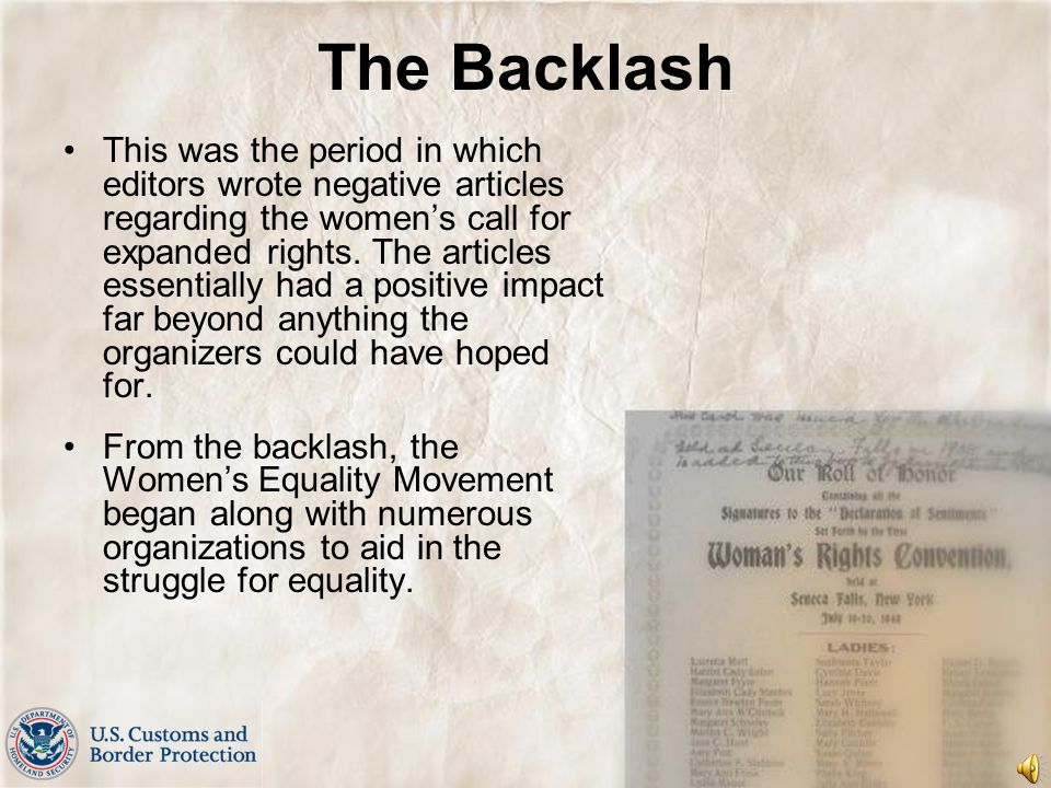 Perseverance Perseverance on the part of National American Woman Suffrage, National Woman's Party, and thousands of women who continuously fought for their beliefs eventually led to victory and on August 26,1920, the 19 th Amendment granted the ballot to American women.