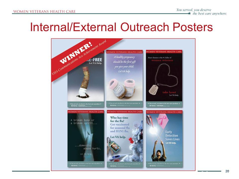 20 Internal/External Outreach Posters
