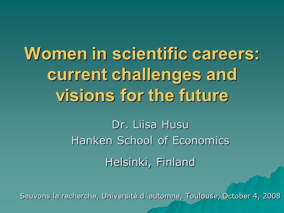 Husu 2008  Gender monitoring in the member states  More efficient gender monitoring of the EU Research Framework Programmes