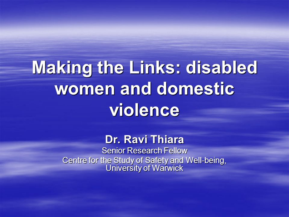 Financial abuse by abusers who are carers  Taking control over women's finances  Using women's money to fund alcohol/drug dependency  Women denied money for their prescriptions and other essentials related to impairment  Getting rid of woman because she could no longer work