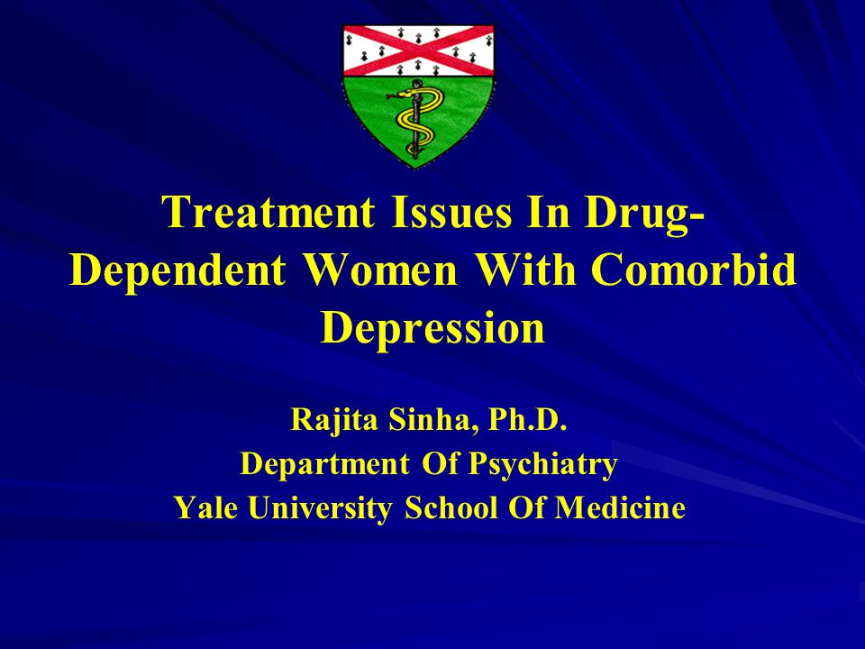 Depression Scores Predicts of Drug Abstinence Status (N=827) VariableOR95% CIp-value Depression Scores at Treatment Entry (BDI) 0.9650.949 – 0.982 0.0001 Controlling for other variables that significantly predict abstinence: Length of Stay Age Race Insurance Status Frequency of Drug Use at Admission Alcohol use SOURCE: Sinha, R., Dodge R (under review).