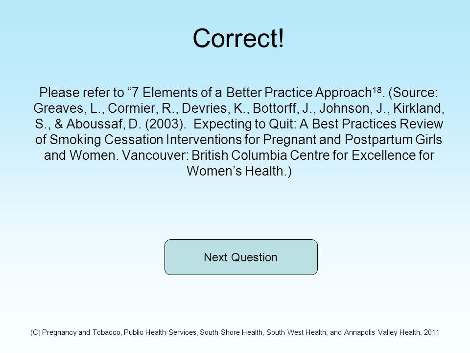 Correct. Please refer to 7 Elements of a Better Practice Approach 18.