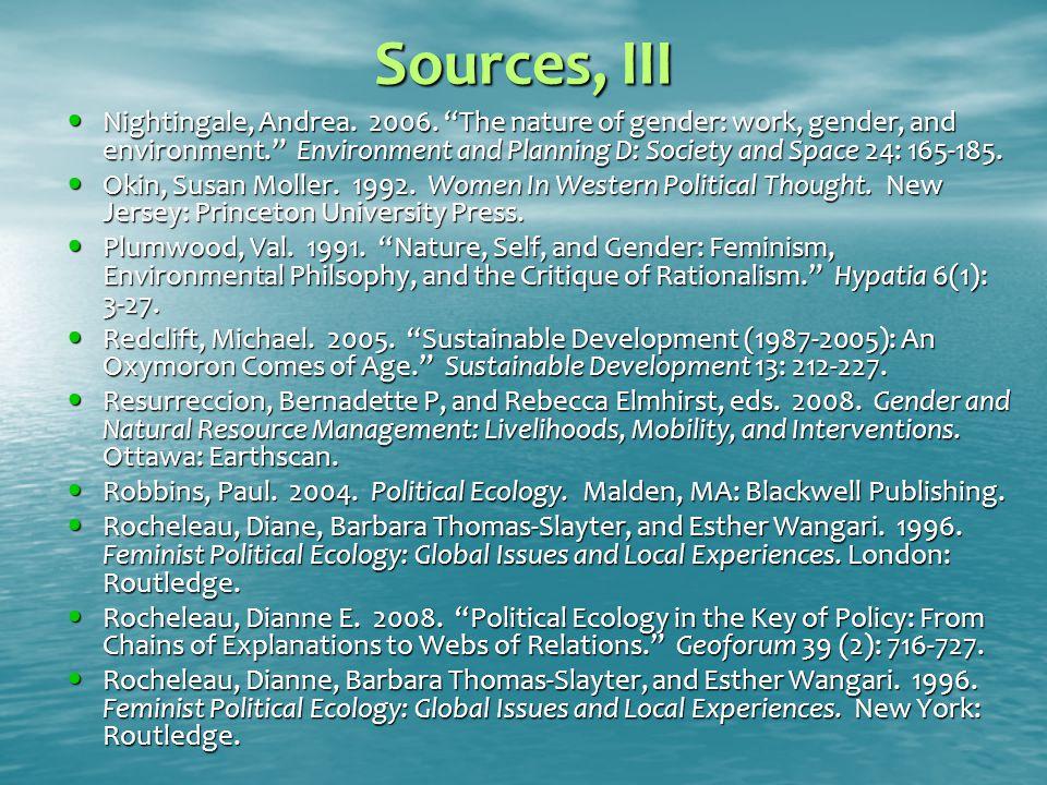 Sources, III Nightingale, Andrea. 2006.