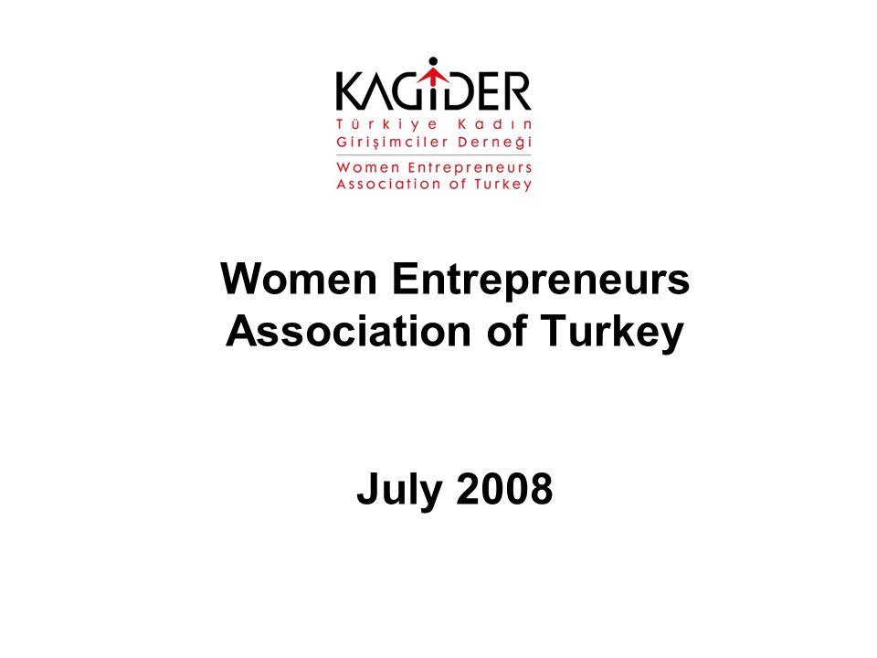 Women Entrepreneurs Association of Turkey July 2008