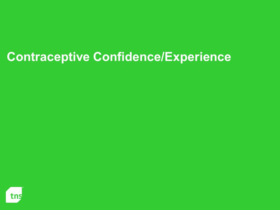 Contraceptive Confidence/Experience