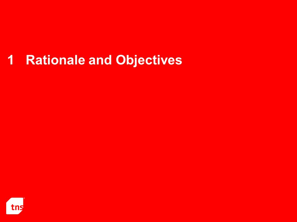 1Rationale and Objectives