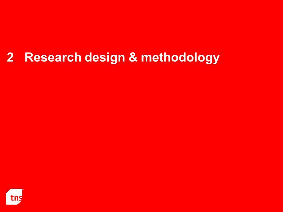 2Research design & methodology