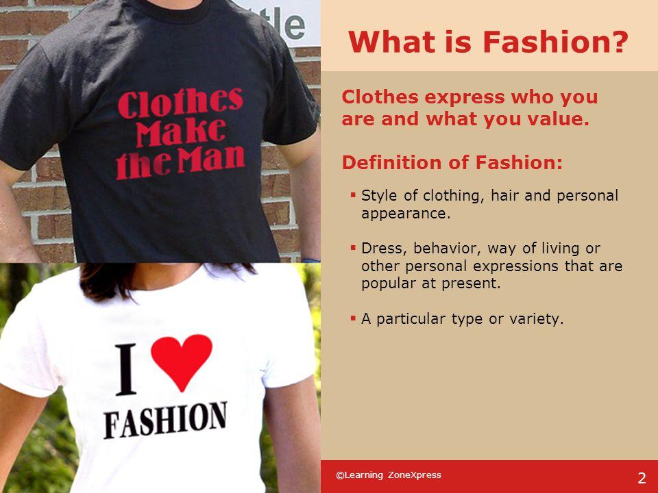©Learning ZoneXpress 23 Fashion Quiz 4.