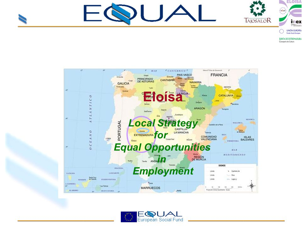 European Social Fund Eloísa Local Strategy for Equal Opportunities in Employment