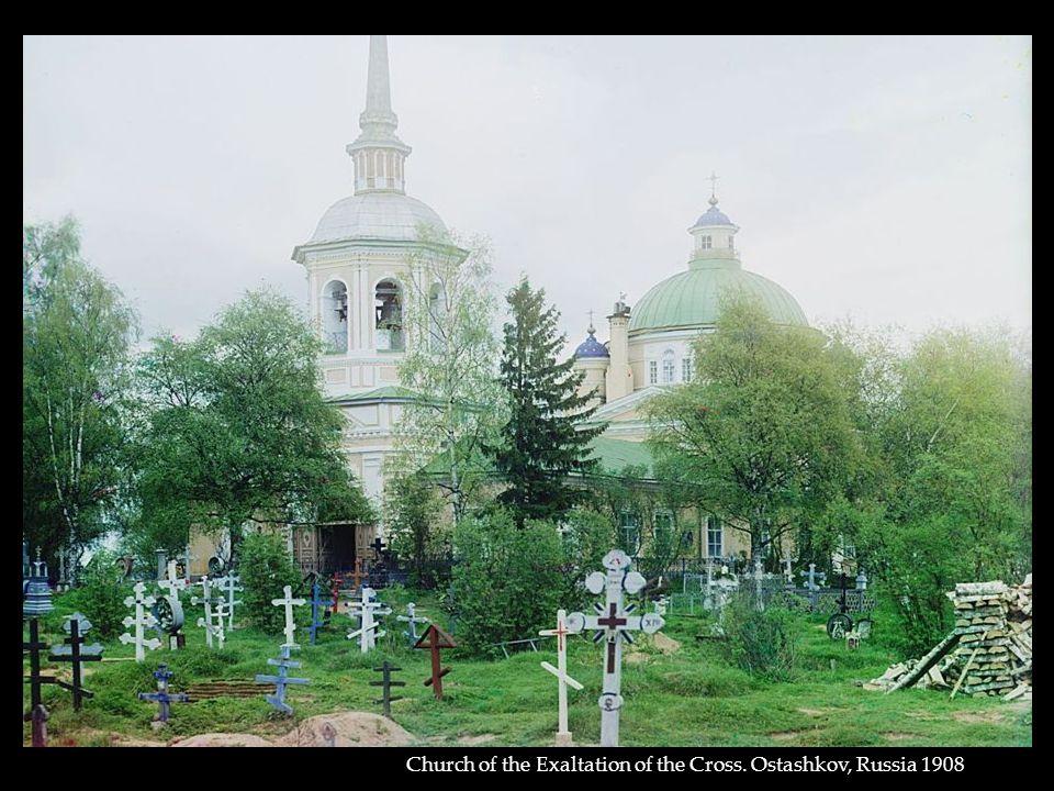 Church of the Exaltation of the Cross. Ostashkov, Russia 1908
