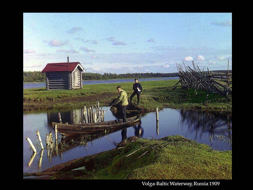 Volga-Baltic Waterway, Russia 1909