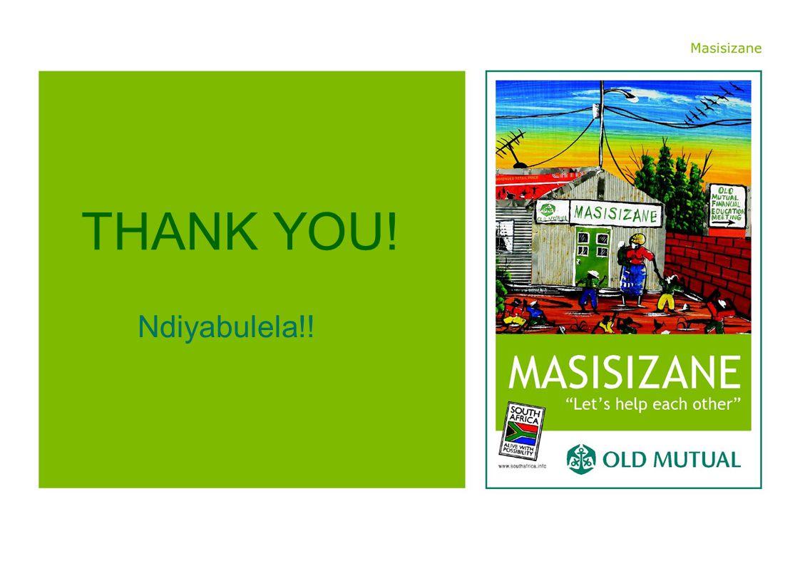 Ndiyabulela!! THANK YOU!