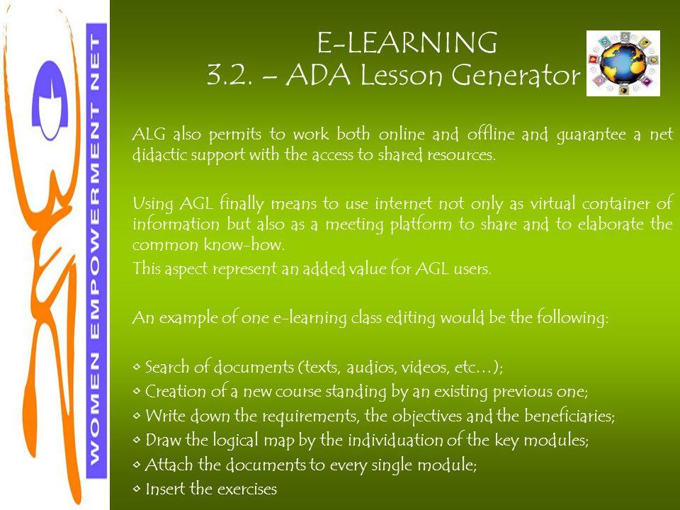 E-LEARNING 3.2.