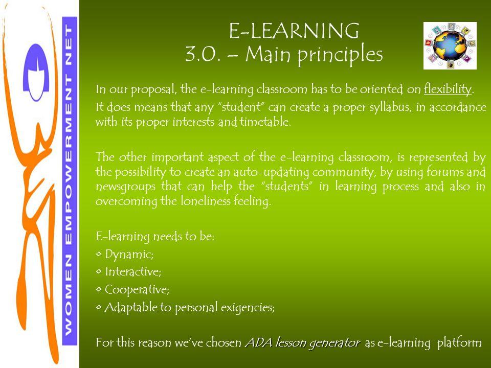 E-LEARNING 3.0.