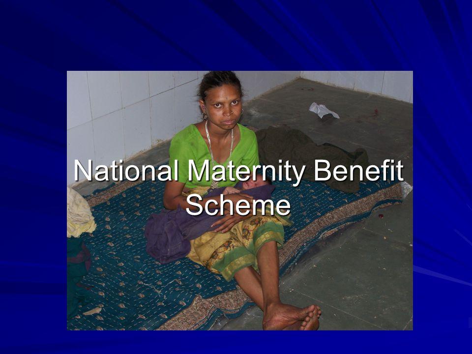 National Maternity Benefit Scheme