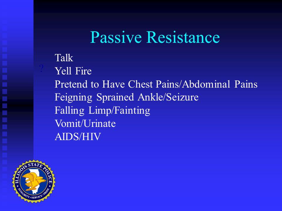 Passive Resistance .