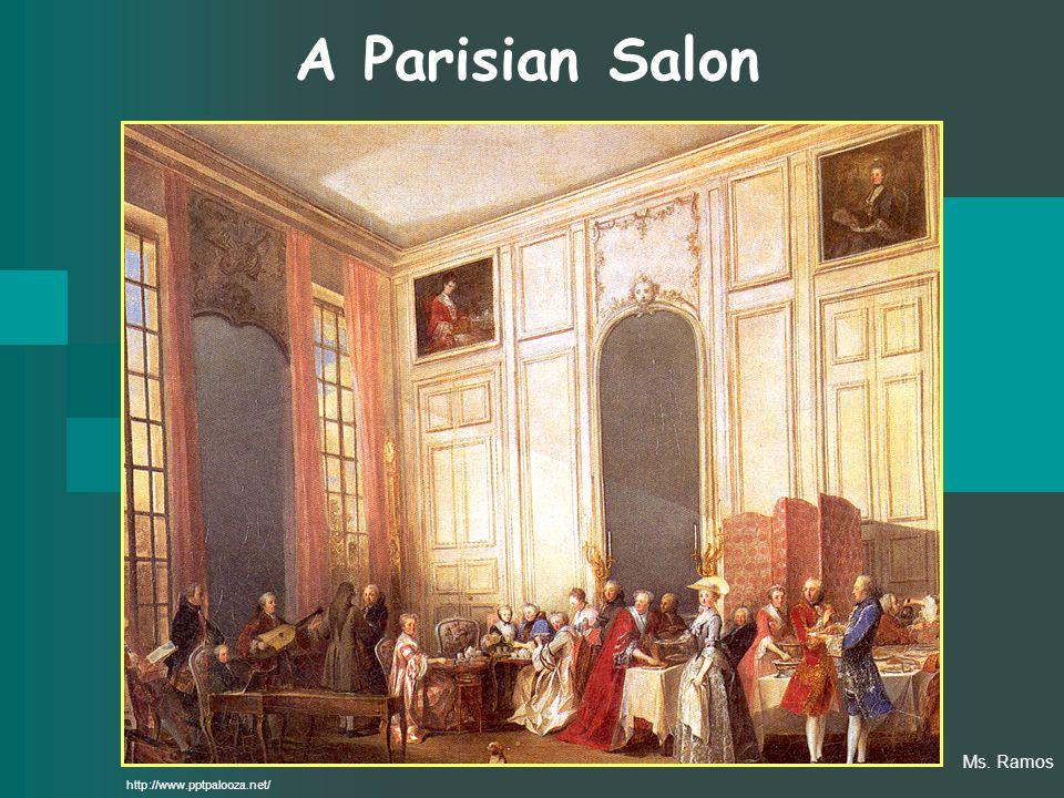 A Parisian Salon http://www.pptpalooza.net/ Ms. Ramos