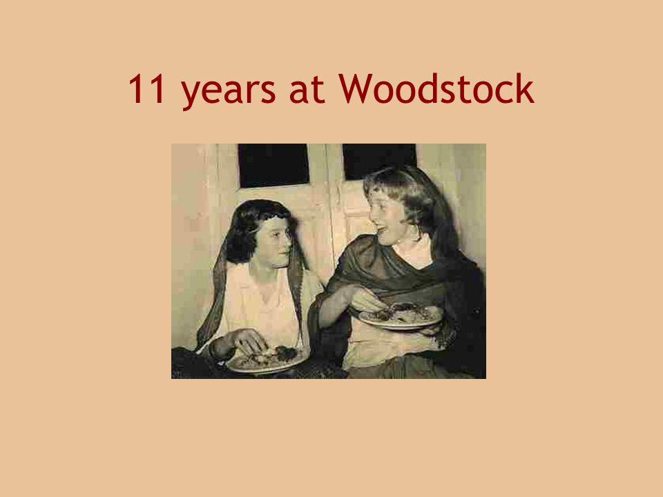 11 years at Woodstock