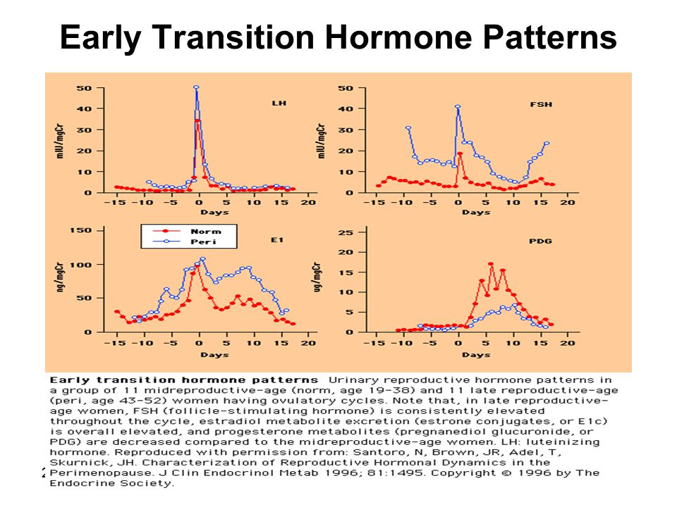 20 Early Transition Hormone Patterns