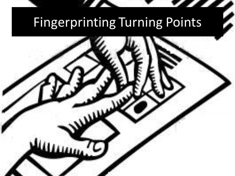 Fingerprinting Turning Points