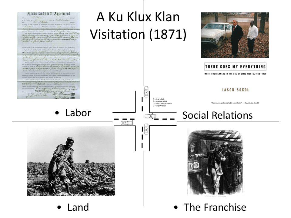 A Ku Klux Klan Visitation (1871) LandThe Franchise Labor Social Relations
