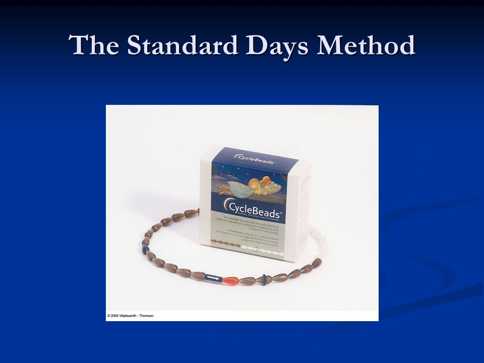 The Standard Days Method