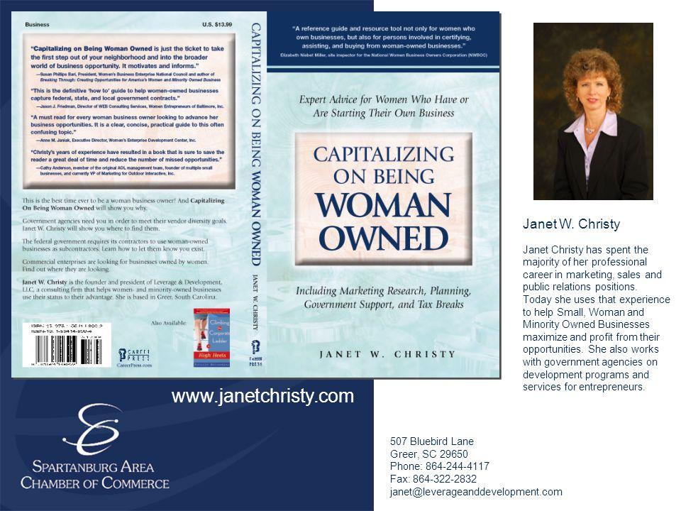 Janet Christy Janet W.