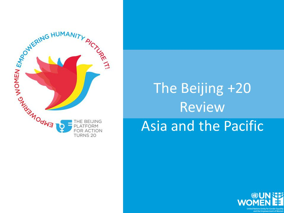 The Beijing +20 Review Asia and the Pacific