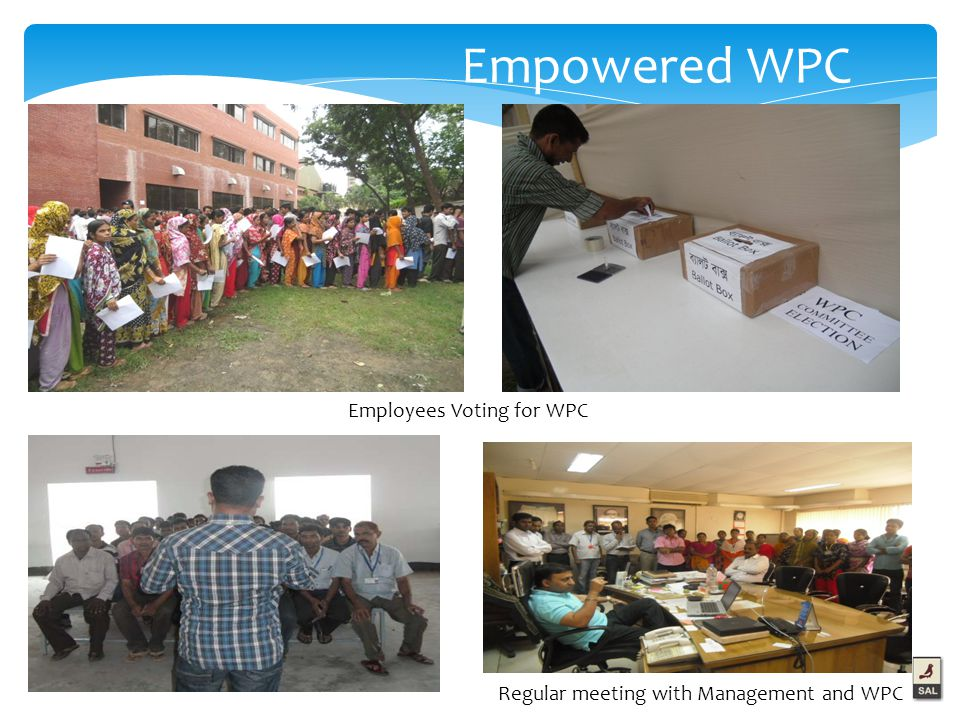 Empowered WPC Employees Voting for WPC Regular meeting with Management and WPC