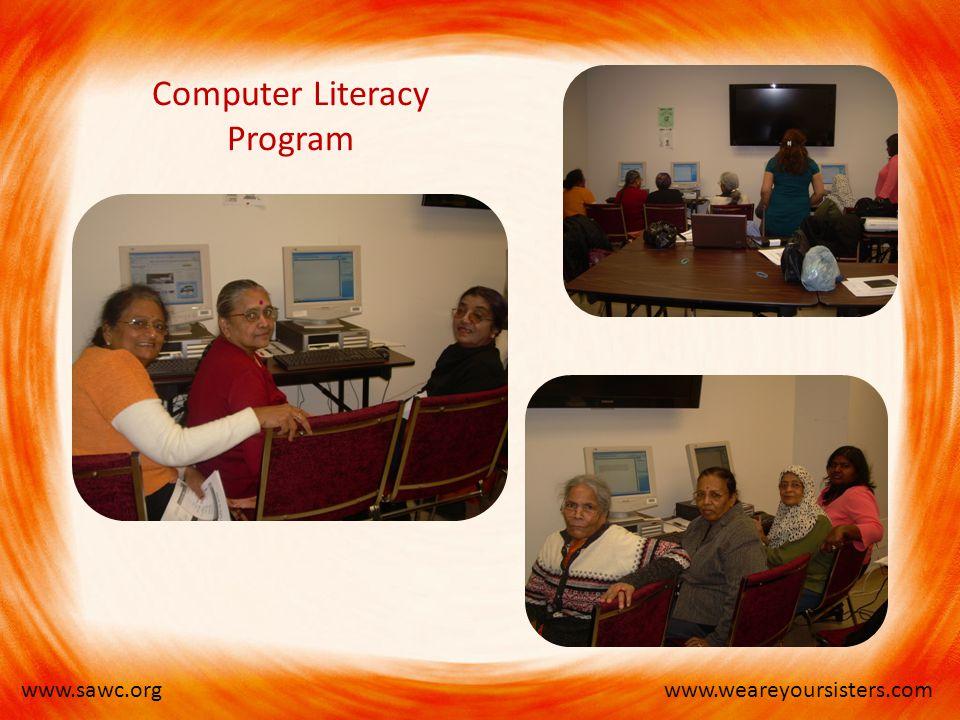 www.weareyoursisters.comwww.sawc.org Computer Literacy Program