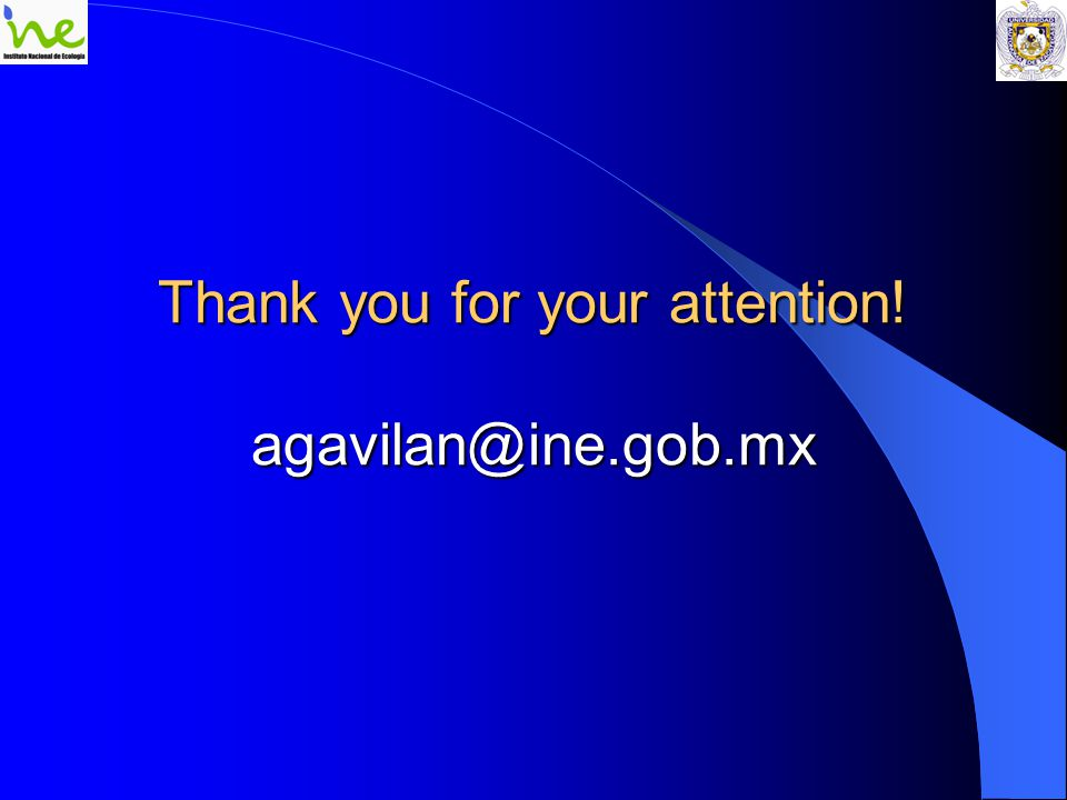 Thank you for your attention! agavilan@ine.gob.mx