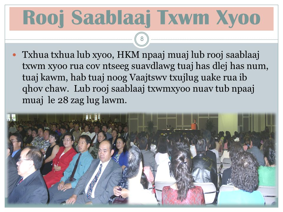 MEDIA Kx.Num Nyaj Hawj FINANCE Maiv Hawj OTS Kl. Xeev Nruag Xyooj Building Maintenance Kl.